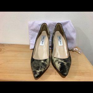 Jimmy Choo smoke tie dye heels